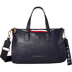 Tommy Hilfiger Walker Smooth PVC Satchel