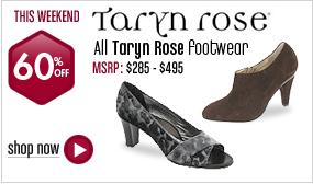 Taryn Rose Footwear - 60% off All Styles This Weekend!
