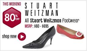 Stuart Weitzman Footwear - 80% off All Styles This Weekend!