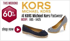 Kors Michael Kors Footwear - 60% off All Styles This Weekend!