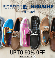Boat Shoes - Sperry, Sebago and more! Up to 50% off