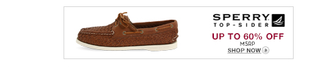 Sperry Top-Sider Up to 60% off MSRP