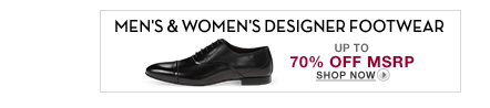 Men's and Women's Designer Footwear