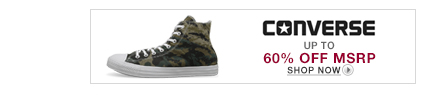 Converse HTT - Up to 60% off MSRP