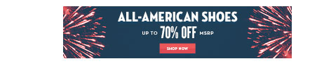 4TH OF JULY WEEKEND SALE - All American Footwear