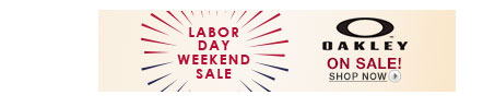 Labor Day Weekend Sale: Oakley