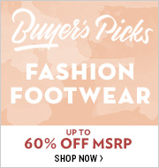 Buyer's Picks: Fashion Footwear