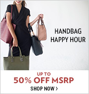 Shop Handbag Happy Hour