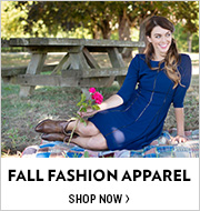 Shop 1ST DAY OF FALL: Fall Fashion Apparel
