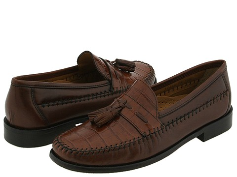 Florsheim - Pisa (Cognac Antic Brush Off) Men