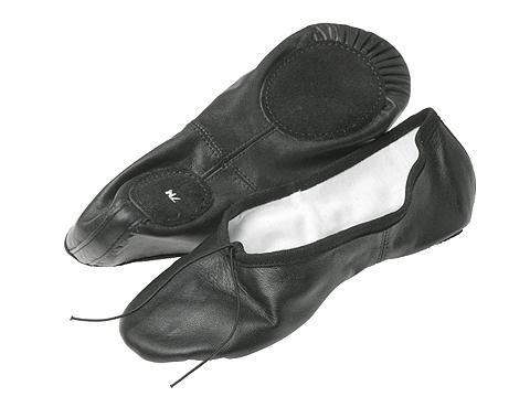 Capezio - Split Sole Ballet (Black) Ballet Shoes