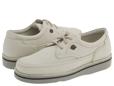 Hush Puppies - Mall Walker (Sport White Leather) Men