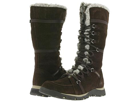 SKECHERS - Grand Jams - Unlimited (Brown Suede) Women's Boots