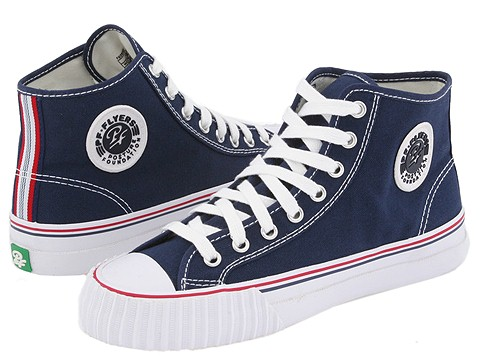 PF Flyers - Center Hi Re-Issue (Navy Canvas) Classic Shoes