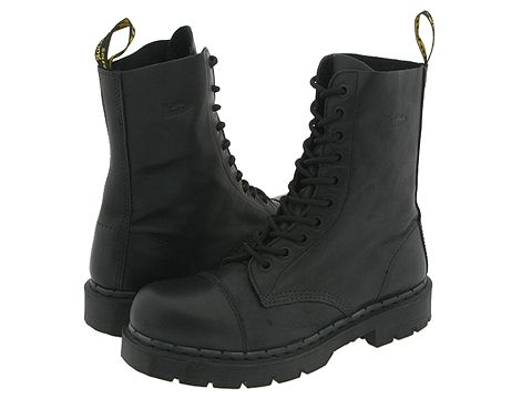 Dr. Martens - 8267 (Black Nappa Leather) Men