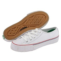 SALE! $17.99 - Save $37 on PF Flyers Center Lo Re Issue Leather (White) Footwear - 67.29% OFF $55.00