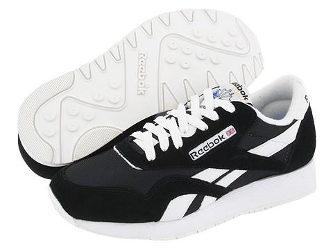 reebok classic nylon lifestyle shoes
