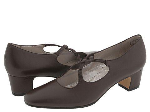 Trotters - Jamie (Mocha) Women's 1-2 inch heel Shoes