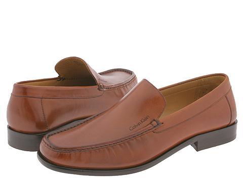Calvin Klein - Neil (Cognac Dress Calf) Men