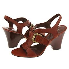 Nine West - Heanna (Medium Brown Leather) - Footwear