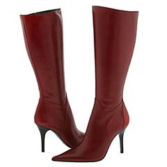 Charles David - Capture (Red Leather) - 6PM.com :  charles david leather red boots