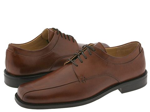 Calvin Klein - Horatio (Tan Dress Calf) Men's Lace-up Bicycle Toe Shoes