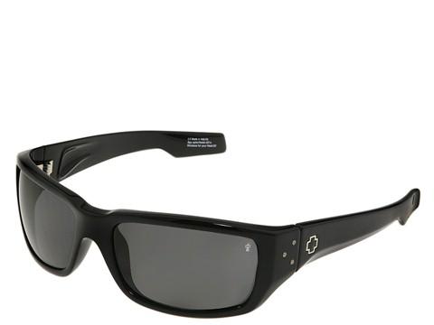Spy Optic - Nolen Polarized (Black/Grey Polarized Lens) Polarized Fashion Sunglasses