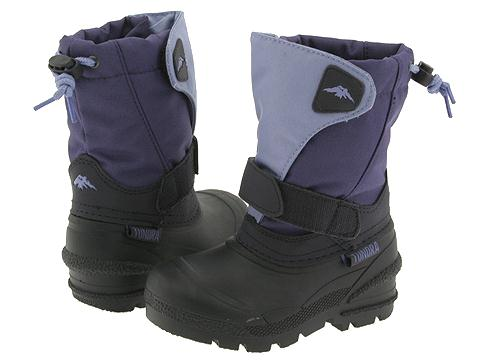 Tundra Boots Kids - Quebec (Toddler/Little Kid/Big Kid) (Purple/Purple) Girls Shoes