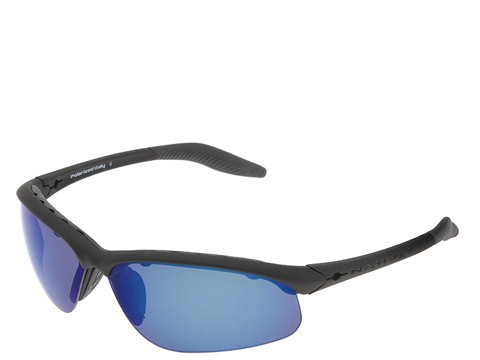 Native Eyewear - Hardtop XP (Asphalt/Blue Reflex (Gray) Lens) Sport Sunglasses