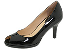 Cole Haan - Air Carma Open Toe Pump (Black Patent Leather) - Cole Haan Shoes