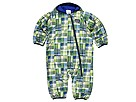 Patagonia Kids - Reversible Puff-Ball Bunting (Infant/Toddler) (Alonzo's Quilt:Ceylon Blue) - Apparel