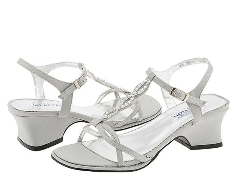 Kenneth Cole Reaction Kids - Superstar (Little Kid/Big Kid) (Silver Flat Satin) Girls Shoes