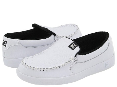 DC - Villain (White/Monogram) Men's Skate Shoes