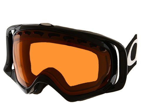 Oakley - Crowbar (Jet Black/Persimmon) Snow Goggles
