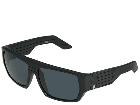 Spy Optic - Blok (Matte Black/Grey Lens) Sport Sunglasses