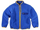 Patagonia Kids - Snap Zip Jacket (Toddler/Little Kids/Big Kids) (Essential Blue/Ceylon Blue/Aztec Yellow) - Apparel