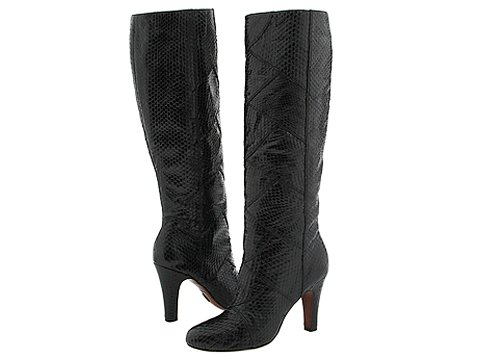 Frye - Ava Tall (Black Snake) - Footwear