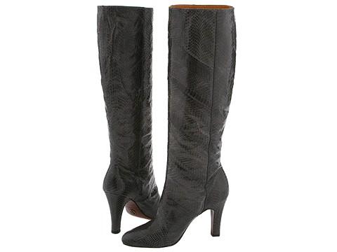 Frye - Ava Tall (Black Grey) - Footwear