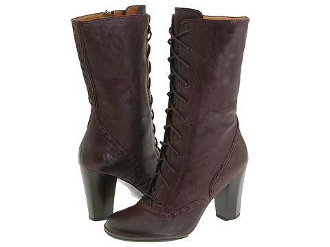 Frye - Adrienne Lace (Plum) - Footwear