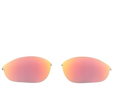 Oakley Half Jacket - Replacement Lenses (Ruby Iridium) Sport Sunglasses
