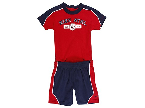Nike Kids Basketball Bodysuit Set (Infant) : Nike Kids Boy's Sets