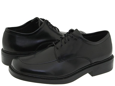 Soft Stags Manchester Soft Stags Mens Lace Up Moc Toe Shoes (Black)