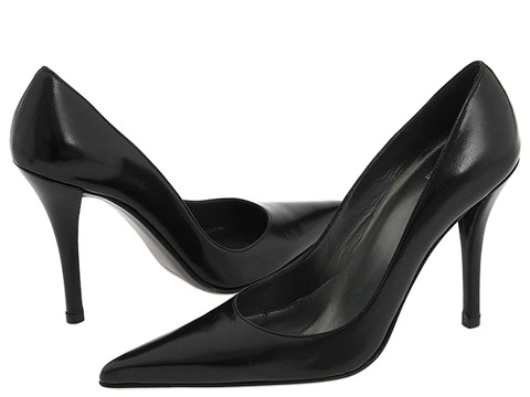 Stuart Weitzman - Fever (Black Kid) High Heels