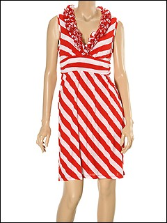 Ella Moss - Aggie Dress (Candy Apple) - Apparel