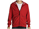 7 For All Mankind - French Terry Zip Hoodie (Jester Red) - Apparel