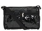 LeSportsac Deluxe Shoulder Satchel (Black Patent)