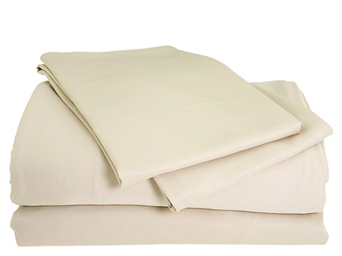 Home Source International - Home Environment 100% Rayon from Bamboo Sheet Set - California King (Hemp) Sheets Bedding
