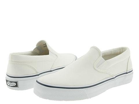 1beb401d1a UPC 044211157184 - Sperry Top-Sider Striper Slip On (White Canvas ...