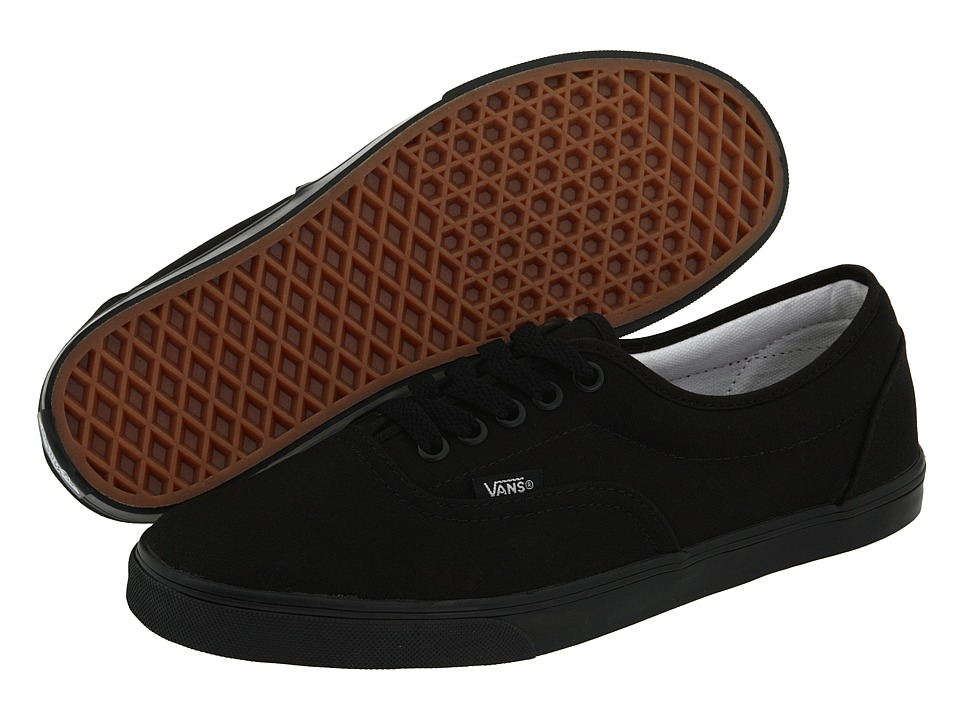 607412a2f7 ... UPC 617931239234 product image for Vans - LPE (Black Black) Skate Shoes  ...