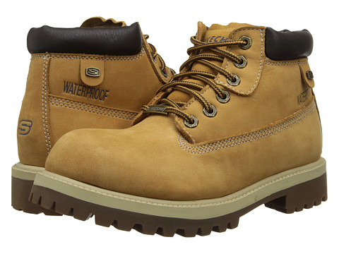 SKECHERS - Verdict (Wheat Waterproof Oily Nubuck) Men